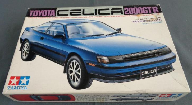 TAMIYA 56 Toyota Celica 2000 GTR 1/24 sports car series mode
