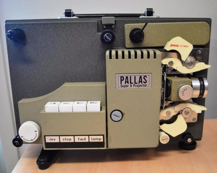Pallas Super 8 Filmprojector - Retro 1969