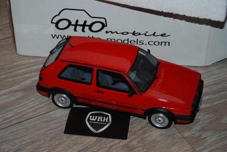 VOLKSWAGEN Golf 2 GTi G60 red Otto mobile OT027 WRH