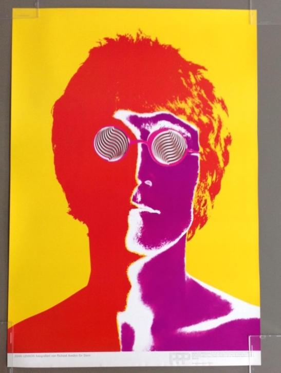 The Beatles Richard Avedon psychedelische posters