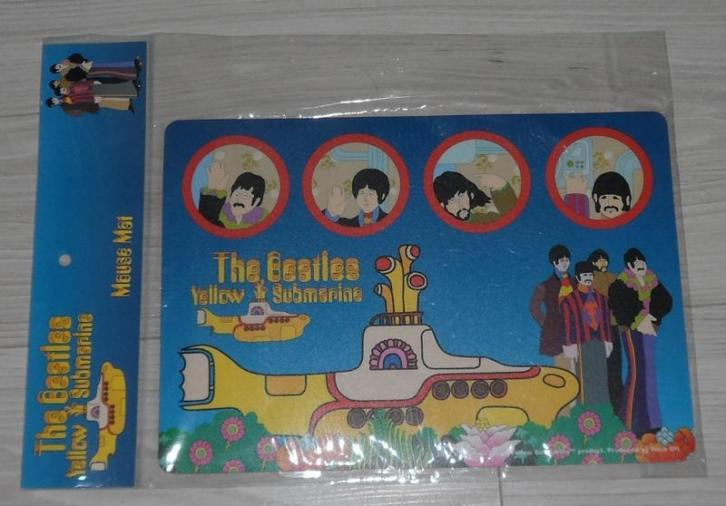 Muismat the Beatles Yellow Submarine nieuw!