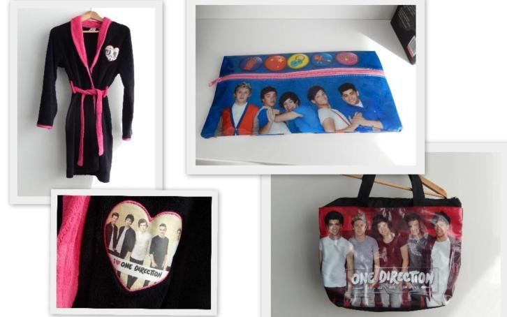 one direction tas/duster/toilet tas?