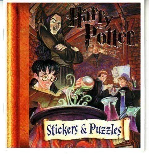 Harry Potter Stickers & Puzzle + Holographic Stickers