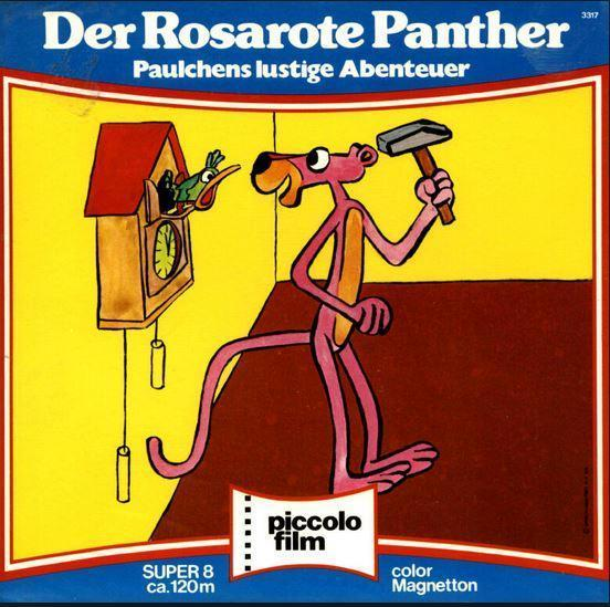 8 mm film De Rose Panter