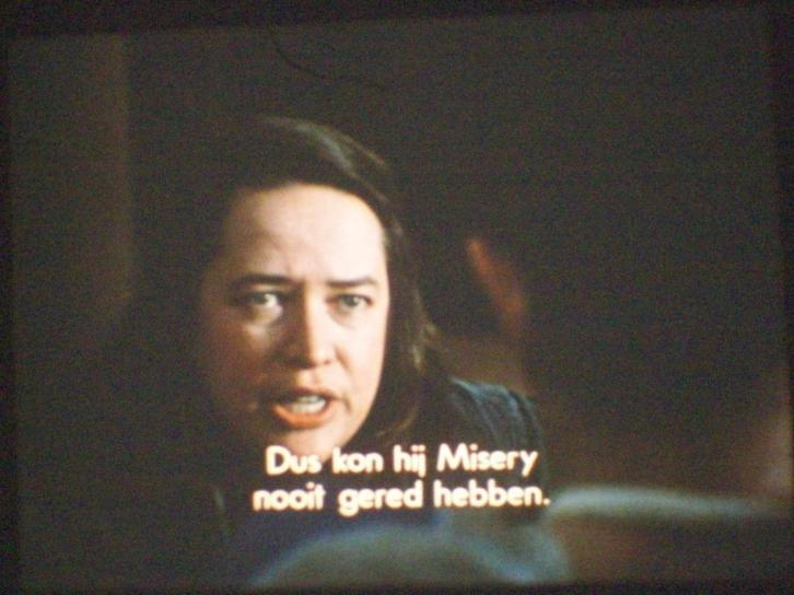 16mm speelfilm--MISERY--thriller--1990--