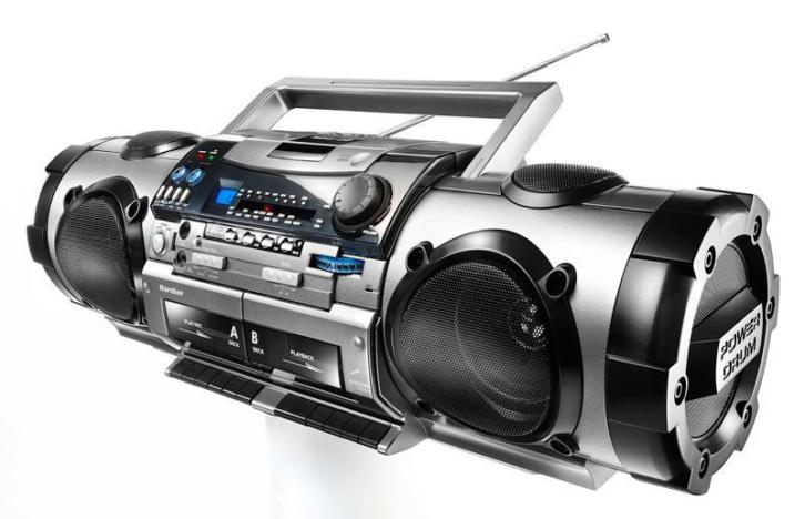 %%% boombox Stereo CD MP3 USB ACTIE 75,- %%%