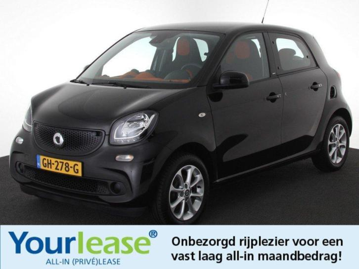 Smart Forfour 1.0 Passion All In 219,- P.m. Private lease