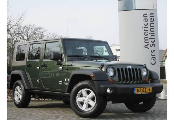 Jeep Wrangler 3.8i V6 4x4 Sport Unlimited / Airco / Trekhaak