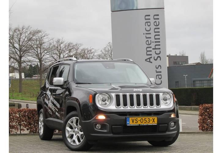 Jeep Renegade 1.6 Multijet Limited VAN 120PK / Navigatie