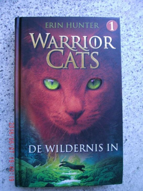 erin hunter warrior cats de wildernis in