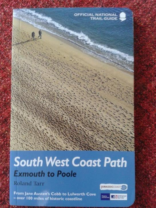 BOEK: SOUTH WEST COST PATH - official National Trail Guide.
