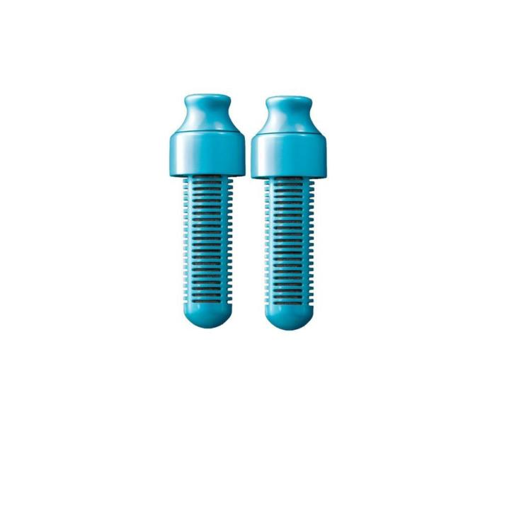 Waterfilter Bobble Blauw (2-delig)