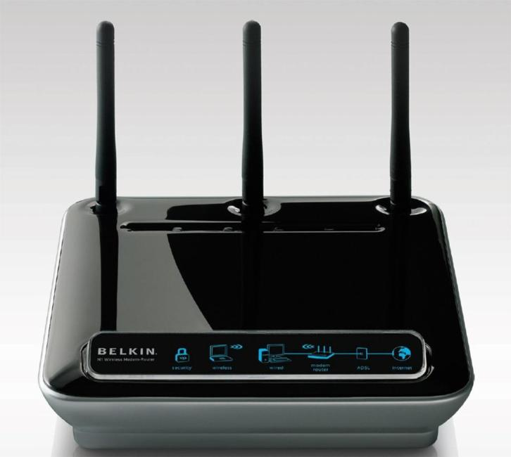 Belkin F5D8631-4 300 Mbps Wireless N N1 Router