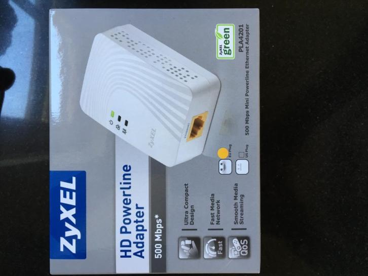 Zyxel HD Powerline adapter (PL4201)