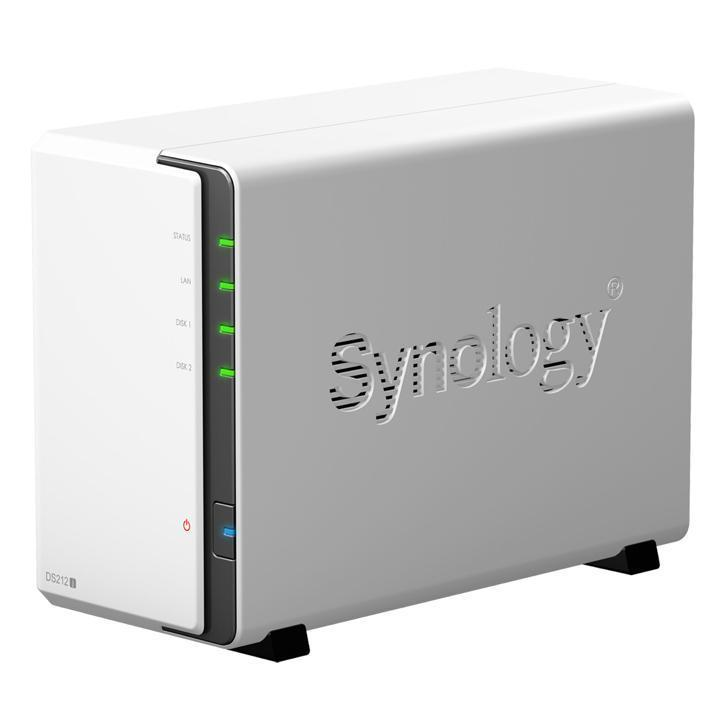 Synology DS-212j incl. 2x3Tb schijf (6Tb totaal)