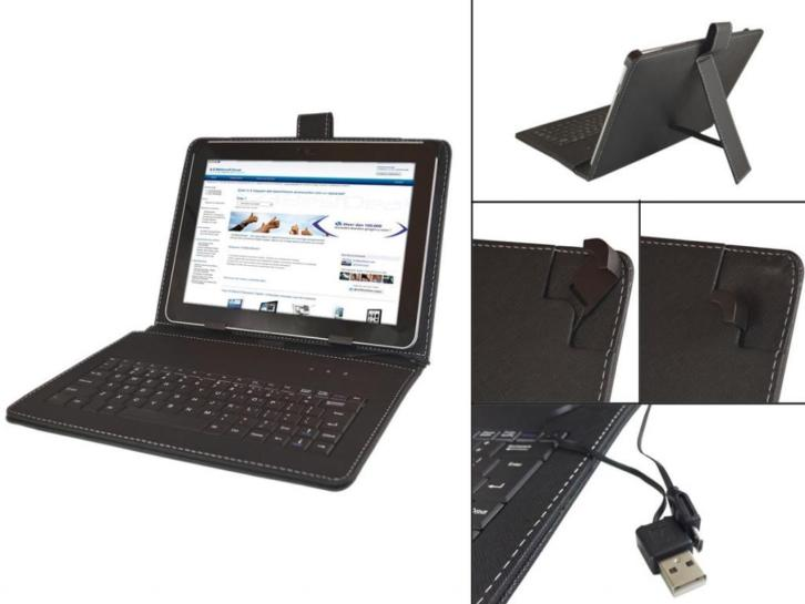 Keyboard Case voor Denver Taq 10133 Tablet
