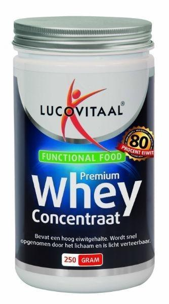 Lucovitaal Functional Food whey proteine concentraat 250g