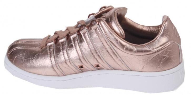 K Swiss Sneakers Classic Aged Foil dames brons/wit maat 37