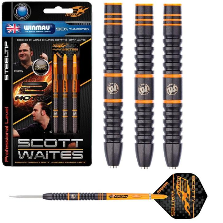 Scott Waites Black Onyx 90% Tungsten dartpijlen