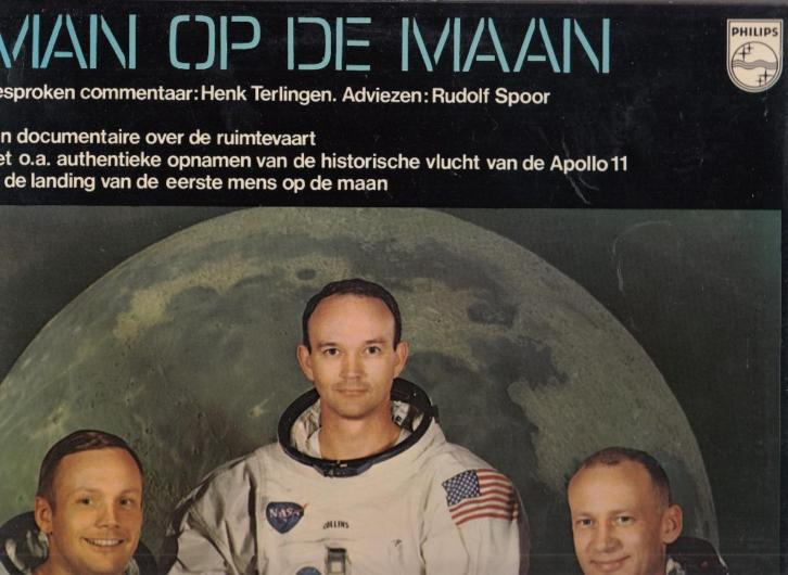 No Artists - Man op de Maan (LP)