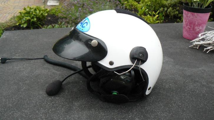 NAC paramotor helm met Peltor intercom