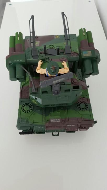 Gi joe Equalizer+sgt Slaughter 1989 gijoe g.i joe gi-joe