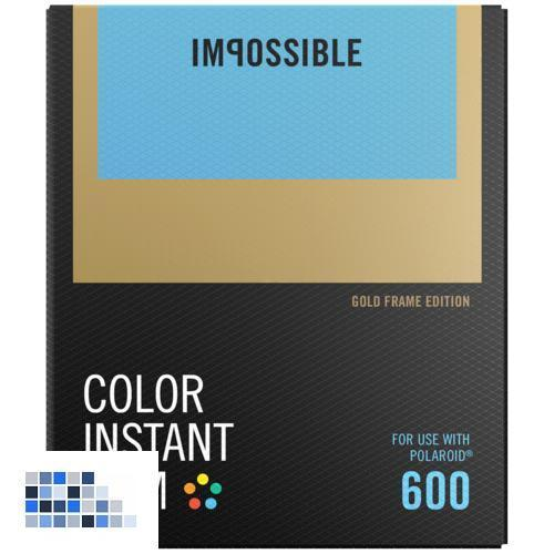 Impossible Color Film für 600 Gold Frame NEU