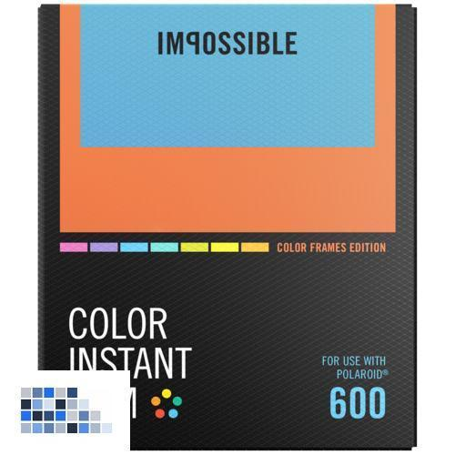 Impossible Color Film für 600 Color Frame NEU