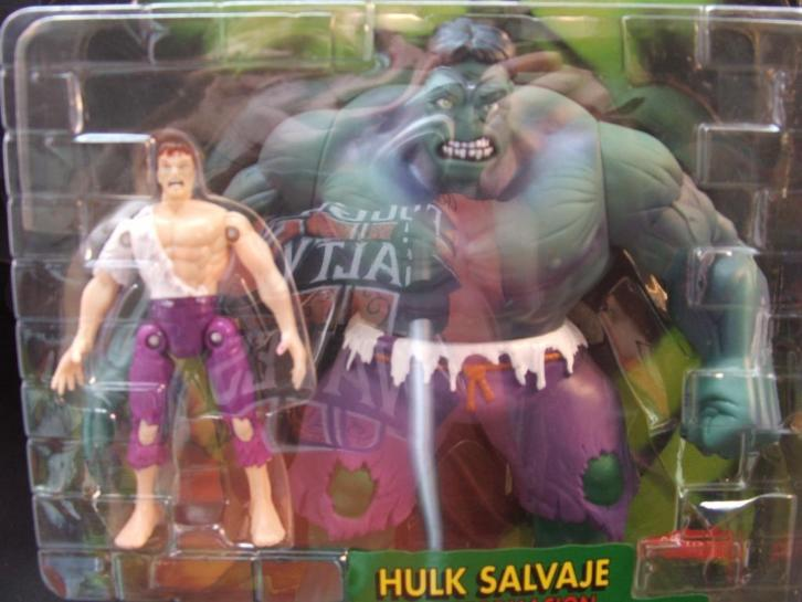 Hulk de incredible hulk salvage transformacion Bandai