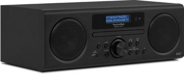TechniSat DAB+ DigitRadio 350 CD (Kleur: zwart)