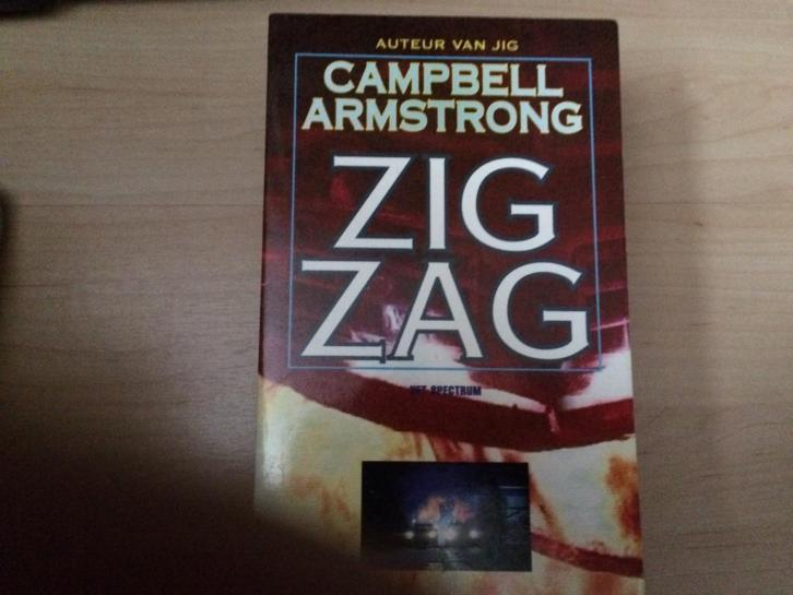 Campbell Armstrong ZIGZAG