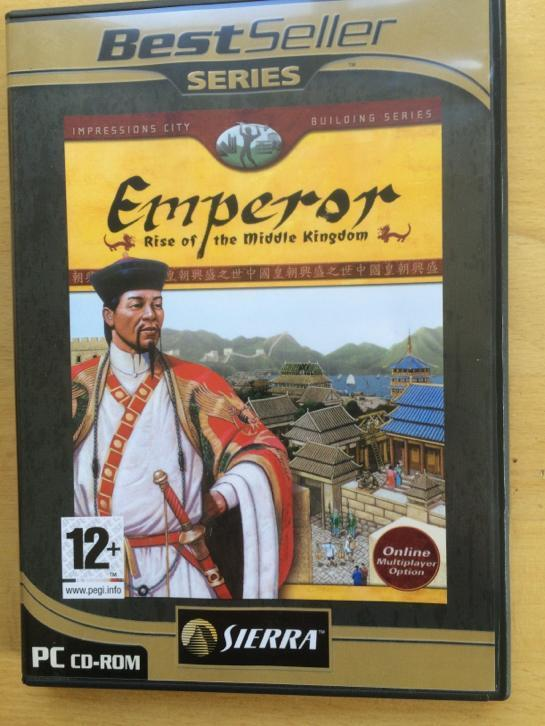 Pc spel cd rom Emperor Rise of the middle kingdom
