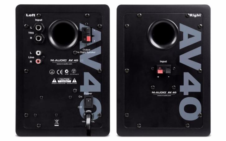 M-Audio AV40 PC Monitor Speakers