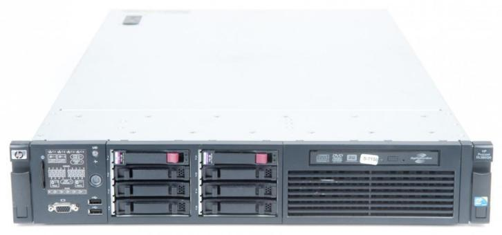 HP Proliant DL380 G6 Intel Xeon Quad core
