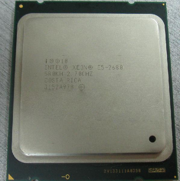 Intel Xeon E5-2680 Tray 2.7-3.5 MHz 8-Core HT 16 Threads
