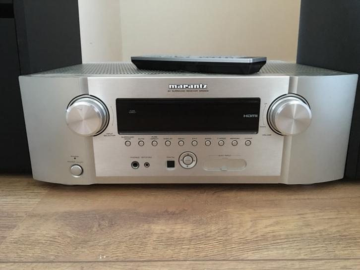 Marantz SR5003 en Bose speakers