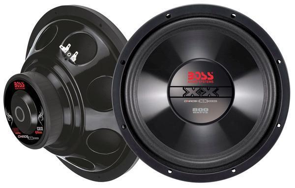 BOSS 800 WATT 12 INCH WOOFER Budgetkoop in doos