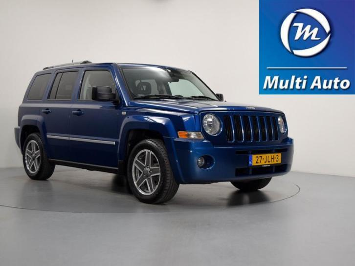 Jeep Patriot 2.4 LIMITED LIBERTY Automaat Leder Airco LMV