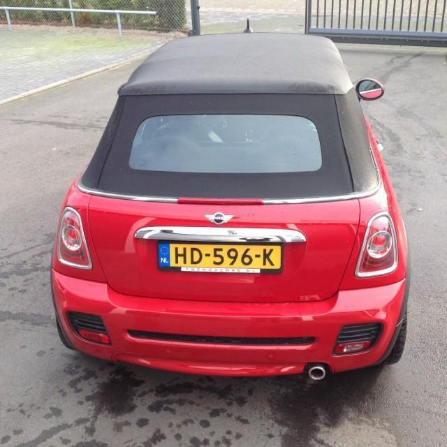 Mini CABRIO CHILLI RED, John Cooper Works Aerodynamic kit, L