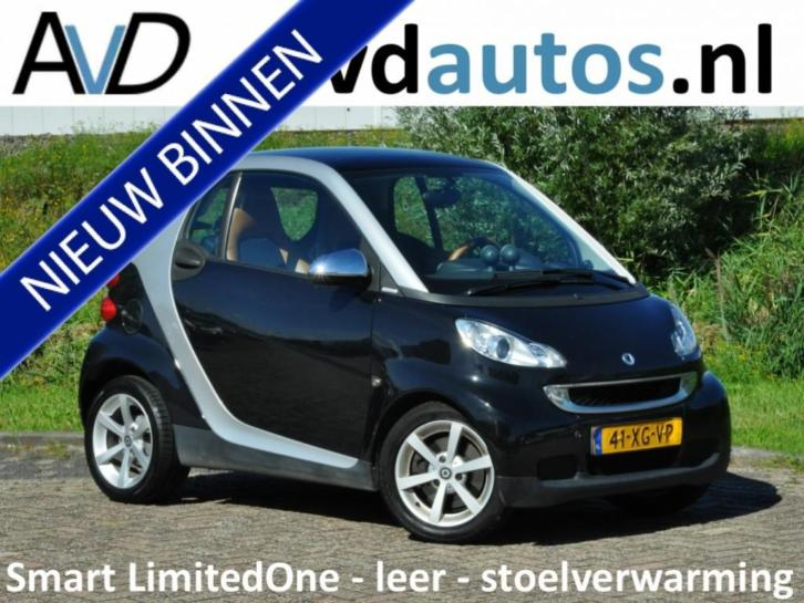 Smart Fortwo coupé Limited One lederen bekleding / stoelverw