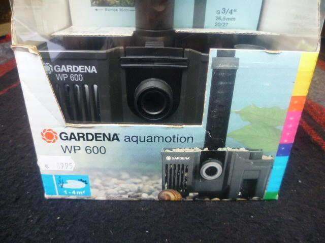 Gardena Aquamotion WP 600 Waterspel vijverpomp