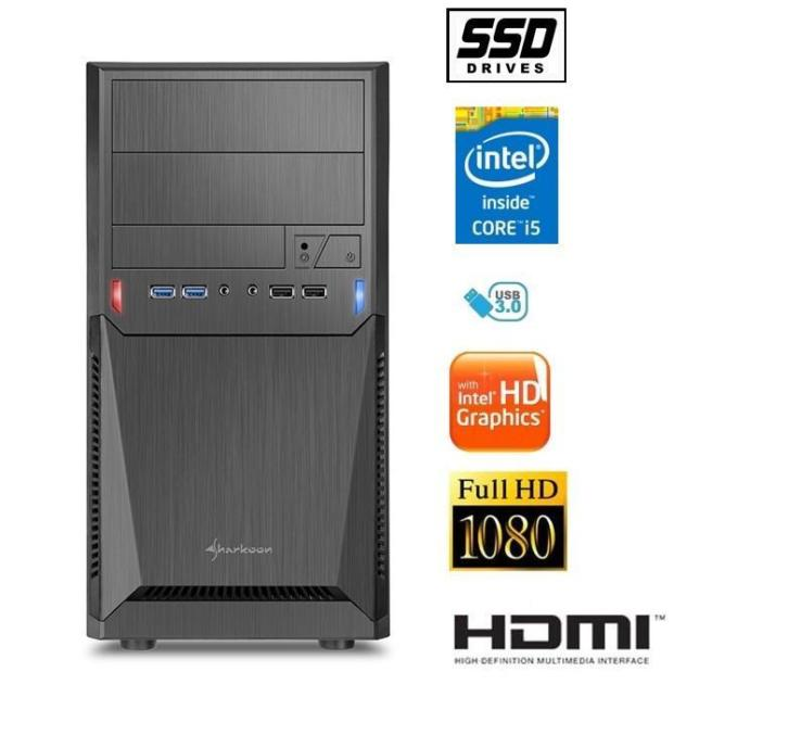 Intel i5-6400 / 8gb ddr4 / 240gb ssd /hdmi/ w10