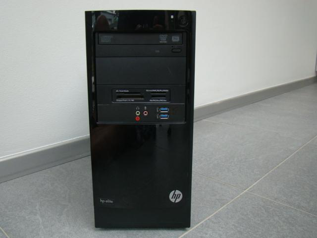 Zeer snelle PC HP Elite Core i7-2600K/8 Gb/500 Gb/GT610.