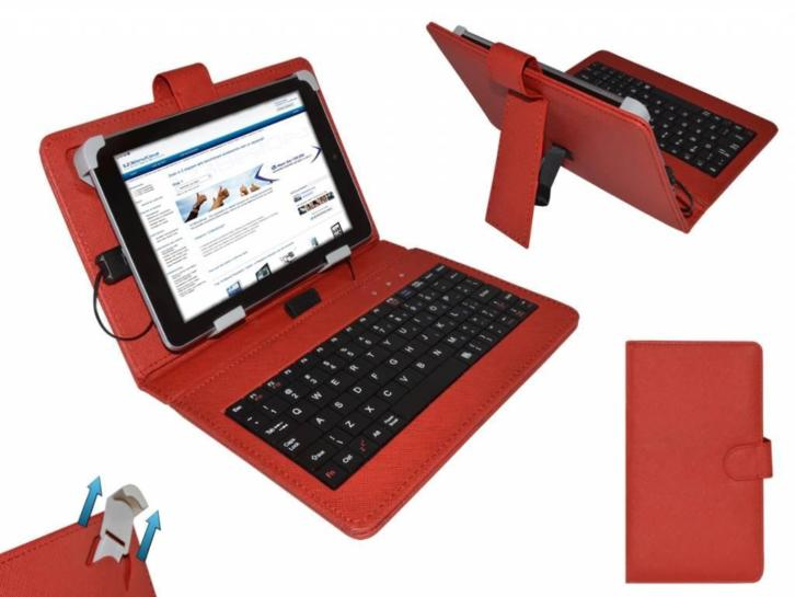 Keyboard Case voor Yarvik Tab274euk Luna Tablet
