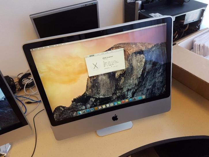 "Apple iMac ""Core 2 Duo"" 2.4 24-Inch A1225"
