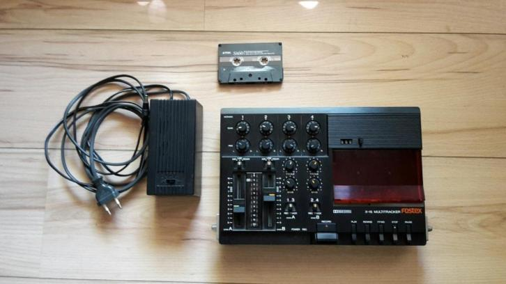 Fostex X15 multitrack recorder