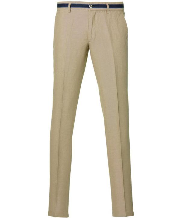 Nils Pantalon - Slim Fit - Beige - 54