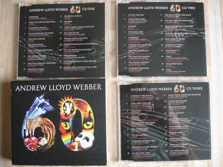 3CD Andrew Lloyd Webber: 60