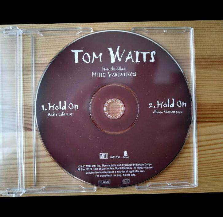 Tom waits - promo cd pack!