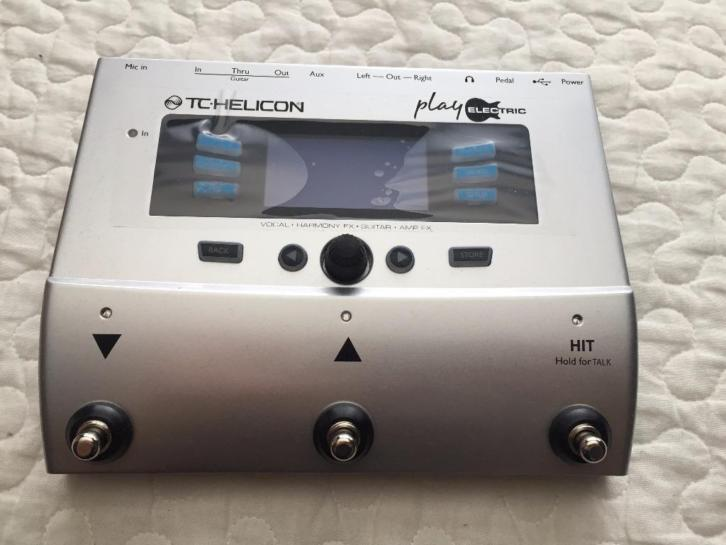 Tc-helicon play electric (nieuw!)